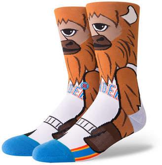 Stance Oklahoma City Thunder Mascot Crew Socks