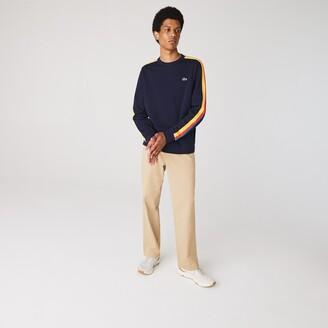 Lacoste Men's SPORT Contrast Bands Fleece Sweatshirt