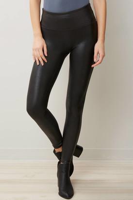 Spanx Black Faux Leather Leggings Black XS