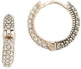 Judith Jack Marcasite Huggie Hoop Earrings