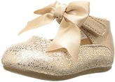 Baby Deer Metallic with Ankle Strap Toddler Slip-On