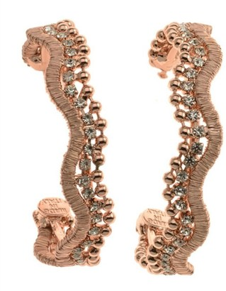 Rebekah Price Marlowe Earrings - Rose Gold
