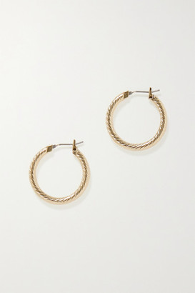 Laura Lombardi Gold-plated Hoop Earrings - one size