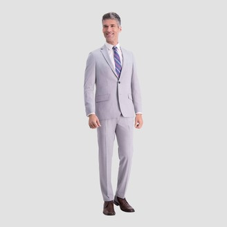 Haggar H26 Men's Slim Fit Premium Stretch Suit Jacket - Light