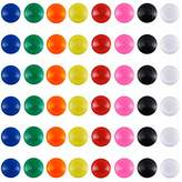 Patelai 48 Pieces Mini Fridge Magnets Round Magnetic Button Whiteboard Magnets Office Magnets