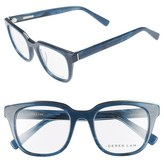 Derek Lam Women's 50Mm Optical Glasses - Blue Stone