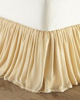 Isabella Collection Queen Velvet Dust Skirt