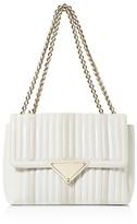Sara Battaglia Elizabeth Leather Shoulder Bag