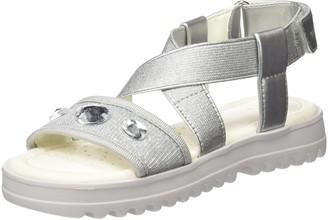 Geox Girls' J Sandal Coralie F Open Toe