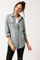 Azalea Denim Button Down Shirt