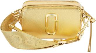 Marc Jacobs Snapshot metallic meather crossbody bag