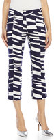 Trina Turk Spring Lutton Print Cropped Trousers
