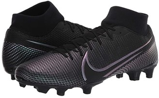 Nike Superfly 7 Academy FG/MG (Black/Black) Cleated Shoes