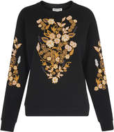Whistles Belize Floral Sweatshirt