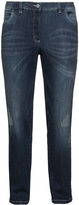 KJ Clothing Brand Plus Size Distressed Betty jeans