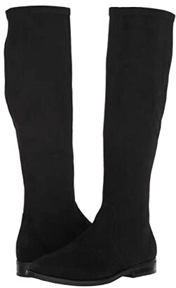 Gentle Souls by Kenneth Cole Emma Stretch Boot (Black) Women's Boots