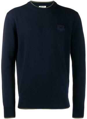 Kenzo Tiger crest sweater