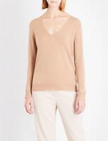 Theory Adrianna v-neck cashmere jumper