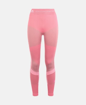 adidas by Stella McCartney Stella McCartney pink running knit tight