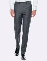 Geoffrey Grey Slim Fit Suit Trouser
