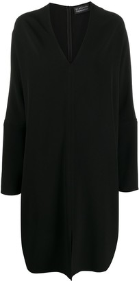 Gianluca Capannolo Oversize V-Neck Shift Dress