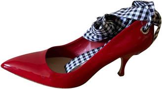 Miu Miu Red Patent leather Heels