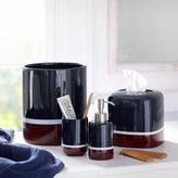 Color Block Soap Dispenser, Navy/Red