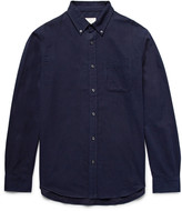 Club Monaco Slim-Fit Button-Down Collar Cotton-Flannel Shirt
