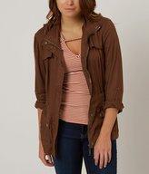 Ashley Solid Anorak Jacket