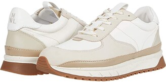 Madewell Kickoff Trainer Sneakers (Antique Cream Multi Neutral) Women's Shoes