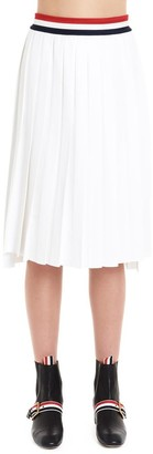 Thom Browne Striped Trim Pleated Skirt