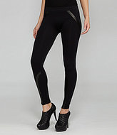 Gianni Bini Stinson Faux-Leather Accented Leggings