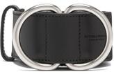 Bottega Veneta - Webbing And Leather D Ring Belt - Mens - Black