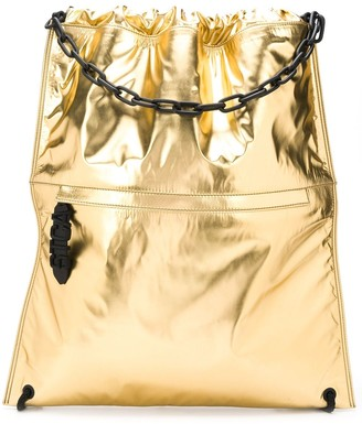 Just Cavalli Drawstring-Fastening Backpack