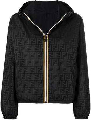 Fendi x K-Way reversible foldable jacket