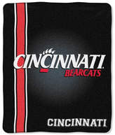 Northwest Company Cincinnati Bearcats Plush Team Spirit Throw Blanket