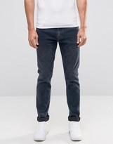 Weekday Friday Skinny Jeans Space Indigo Acid