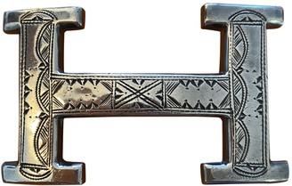 Hermã ̈S HermAs Boucle seule / Belt buckle Silver Silver Belts