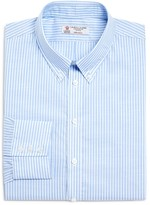Turnbull & Asser Informalist Stripe Regular Fit Button Down Shirt