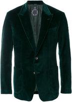 Dolce & Gabbana velvet two button blazer