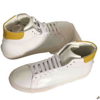 Anya Hindmarch White Leather Trainers