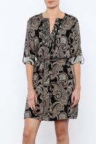 Molly Bracken Beaded Paisley Dress