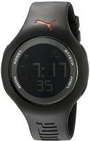 Puma Unisex PU910801005 Drop Black Digital Watch