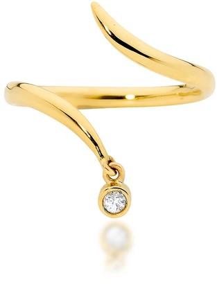 Serafin Jewellery Tiny Diamond Asp Ring 14Ct