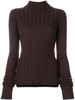 Theory high neck ribbed sweater