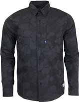 adidas Gonz Camo Woven Mens Shirt - or Navy