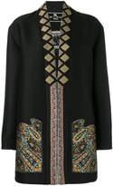 Etro embroidered coat