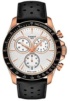 Tissot V8 Chrono Quartz - T1064173603100 (Rose Gold) Watches