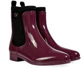 Rain Boots in Deep Cherry