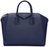 Givenchy Blue Medium Antigona Bag